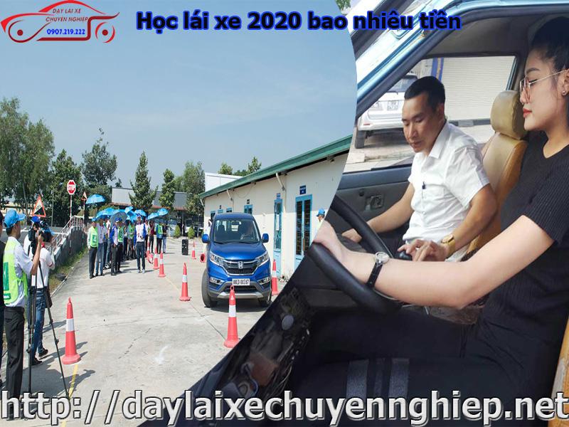 Hoc lai xe 2020 bao nhieu tien tai Thanh HoaDong Nai ban da biet chua