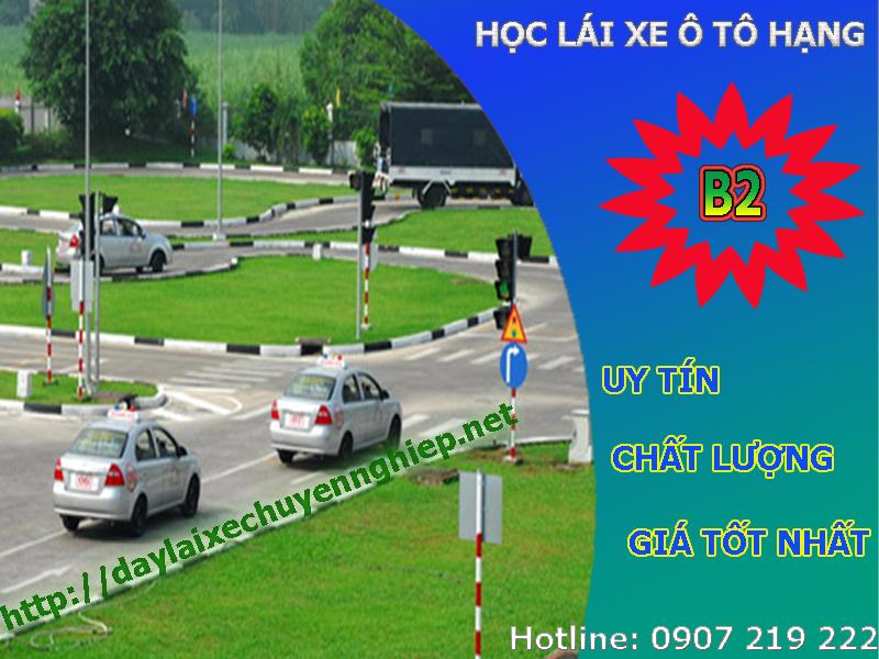 Học lái xe ô tô hạng B2 tại Thanh Hóa, Đồng Nai