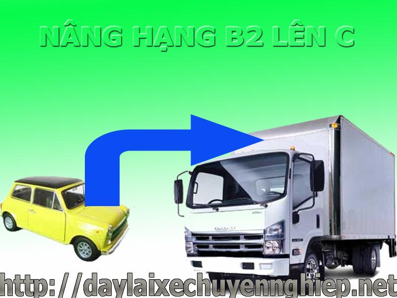 Nâng hạng giấy phép lái xe B2 lên C tại Thanh Hóa, Đồng Nai